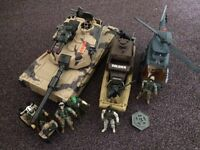 Collection of forces' based toys