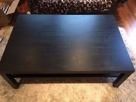 Large Ikea Hemnes coffee table