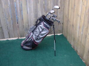 Ladies Right Hand Golf sets consist Taylormade