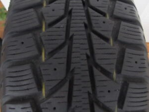 "4 WINTER TIRES 205/65R16 95S 16Inch "" TIGER PAW ICE&SNOW"""