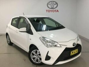 2017 Toyota Yaris NCP130R Ascent White 4 Speed Automatic Hatchback West Ryde Ryde Area Preview