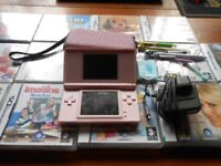 nintendo ds lite console plus 14 games