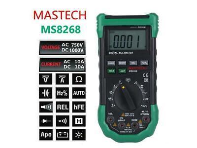 Mastech Ms8261 Digital Multimeter Current Resistance Capacitance Test