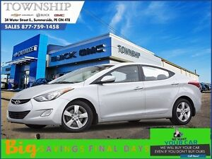 2013 Hyundai Elantra - GLS - $6/Day! - Sunroof - Heated Seats
