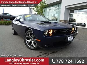 2016 Dodge Challenger SXT EX-DEMO! W/ LEATHER, PADDLE SHIFTER...