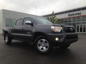2013 Toyota Tacoma Limited, Custom Leather, Navi, Backup Cam.