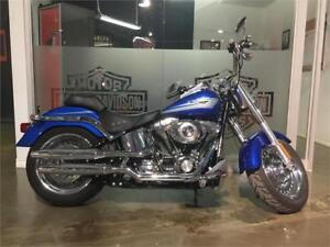 2009 HARLEY DAVIDSON FLSTFI Softail Fat boy