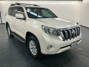 2016 Toyota Landcruiser Prado GDJ150R MY16 VX (4x4) Crystal Pearl 6 Speed Automatic Wagon Sunshine North Brimbank Area Preview