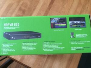 (NEW)Shaw Direct Motorola Sat 320GB HD PVR,Model #: HDPVR 630