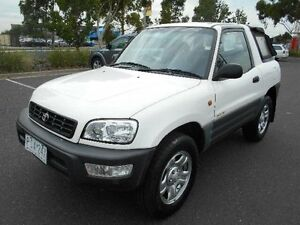 1998 Toyota RAV4 (4x4) White 4 Speed Automatic 4x4 Cabriolet Maidstone Maribyrnong Area Preview