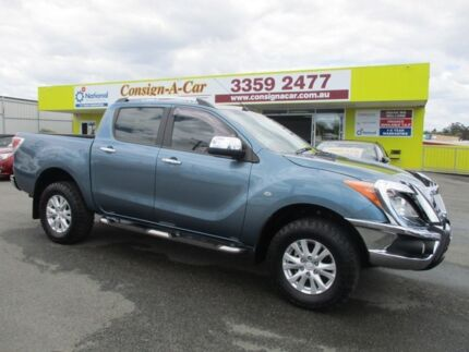 2014 Mazda BT-50 UP0YF1 XTR Blue 6 Speed Sports Automatic Utility Kedron Brisbane North East Preview