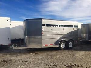 2016 Mustang 16' Stock Trailer