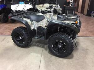 2017 Yamaha Grizzly Camo with Accessories - MUST SEE!