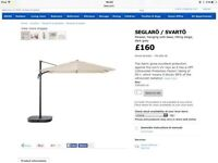 IKEA parasol and base