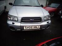 2005 Subaru Forester 2.0 Petrol MOT'd MAY FOR SPARES or REPAIR £895