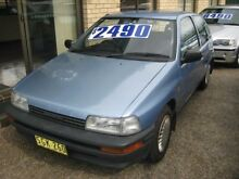 1992 Daihatsu Charade TS Blue 3 Speed Automatic Hatchback Tuncurry Great Lakes Area Preview