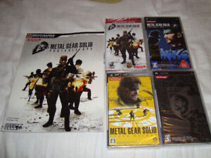 PSP METAL GEAR SOLID GAMES NEW + GUIDE