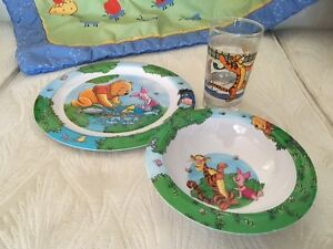 Pile of Pooh! Pooh Bear Collection: Plate/Bowl/Glass/Blanket