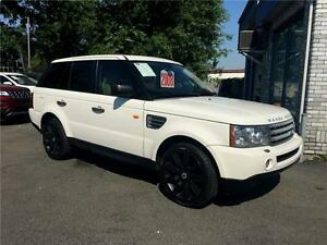 LAND ROVER RANGE ROVER SPORT SUPERCHARGED W/NAVIGATION 2008