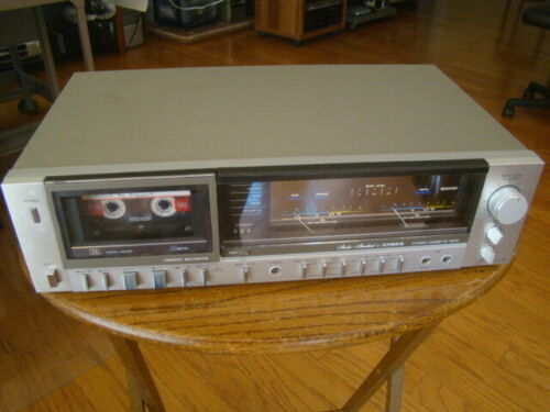 Fisher CR-150 Vintage 3 Head Cassette Deck Tested Working Condition