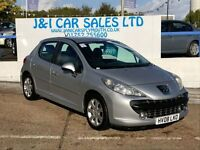 PEUGEOT 207 1.6 SPORT 5d AUTO 118 BHP www.jandicarsplymouth.co (silver) 2008