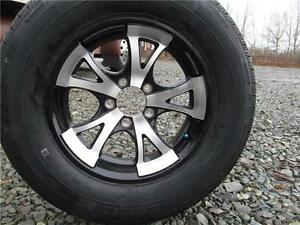 5-BOLT ALUMINUM WHEELS AND TIRES Prince George British Columbia image 2