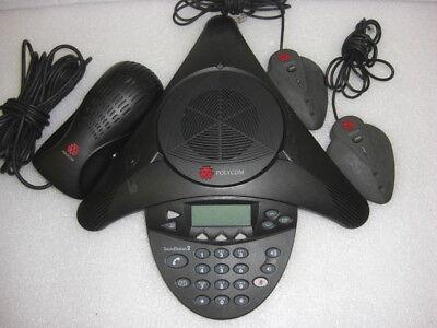 Polycom 2201-16200-601-d Soundstation 2 W Ac 2 Mics