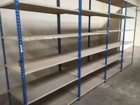 job lot rapid 1 heavy duty industrial shelving SINGLE BAYS ( pallet racking , storage)