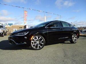 2016 Chrysler 200C V6, 14K, LEATHER, PANO ROOF, LOADED, $21980