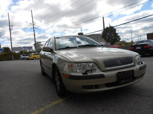 2001 VOLVO S40; CERTIFIED & ETESTED