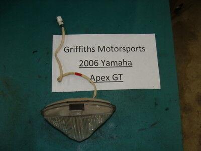 06 2006 07 08 YAMAHA APEX GT vector? nytro? LED rear taillight oem tail light