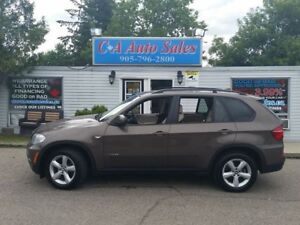 2011 BMW X5 PREMIUM PKG WITH TECH PKG NAVI AND BACK UP