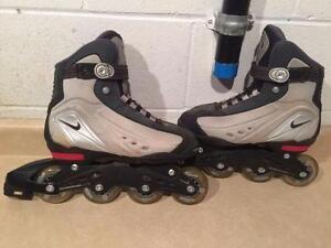 Unisex Nike N. Dorfin 6 Comp Lite Rollerblades Size 9
