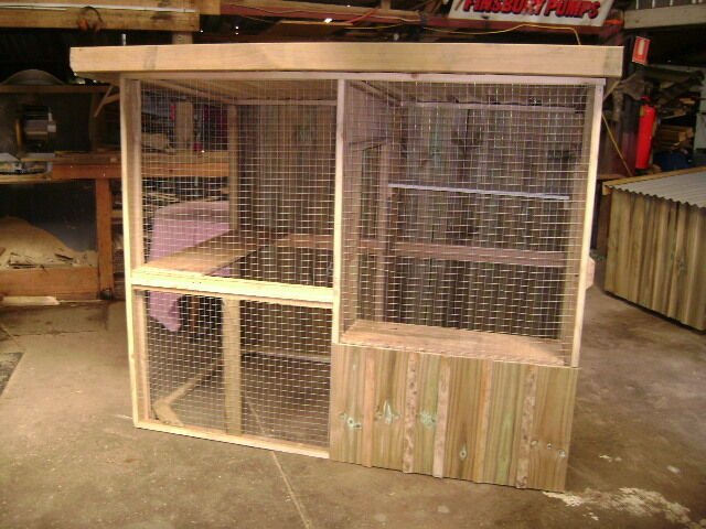 Cat Enclosure With Or Without Run Pet Products Gumtree