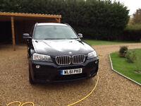 2012 BMW X3 3.0d M sport