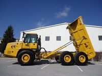 Looking to rent off road dump truck for a week