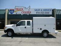 2011 Ford F-250 4X4 Ext. Cab SRW 8' Covered Utility