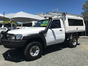 2010 Nissan Patrol GU MY08 DX (4x4) White 5 Speed Manual Cab Chassis Gloucester Gloucester Area Preview