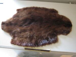 Fur pieces-mink, beaver etc.