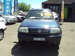 2003 Suzuki XL-7 JA627 (4x4) Blue 4 Speed Automatic Wagon Punchbowl Canterbury Area Preview