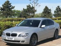 BMW 7 SERIES 3.0 730D SE 4d AUTO 228 BHP (silver) 2007