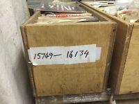 "7"" single vinyl record storage boxes x 5"