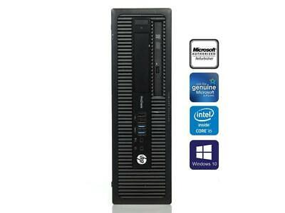 HP ProDesK 600 G1 SFF PC i5 4570 3.20GHz 8GB 256GB SSD Windows 10 Pro segunda mano  Embacar hacia Mexico