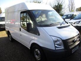 2013 Ford Transit 2.2TDCi 280 Med Roof Van SWB NO VAT 125 PS AIR CON 60K