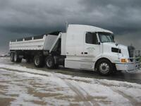 Gravel/Snow hauling, and Winter Road hauling