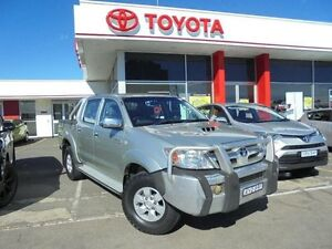2006 Toyota Hilux KUN26R SR5 (4x4) Sterling Silver 4 Speed Automatic Dual Cab Pick-up Belmore Canterbury Area Preview