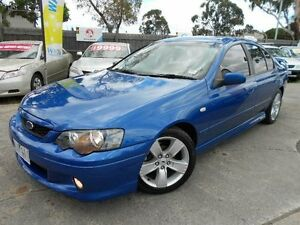 2007 Ford Falcon BF MkII XR6 Blue 6 Speed Manual Sedan Maidstone Maribyrnong Area Preview