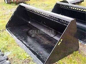 NEW HEAVY DUTY SNOW SKID STEER HLA HIGH VOLUME SNOW BUCKET