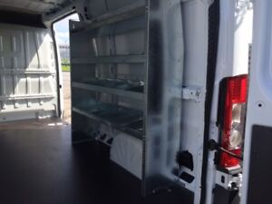 Van shelving units / racking for Sprinter Transit Promaster