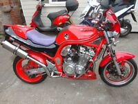 SUZUKI BANDIT 600 STREETFIGHTER FULL MOT, P/X WELCOME CASH EITHER WAY